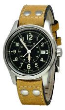 Hamilton Khaki Field 40mm Leather Band Automatic Men Watch H70595593