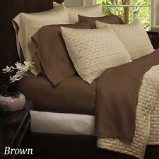 4 - Piece Luxurious Bamboo Sheets, King, Queen, Full - 10 colours