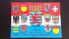 CPM Les blasons des 12 cantons du Grand-Duché de Luxembourg