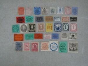Nystamps U Mint old US Local Post stamp collection