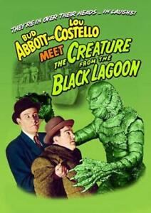 ABBOTT AND COSTELLO MEET THE CREATURE FROM THE BLACK LAGOON USED - VERY GOOD DVD