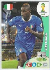 Panini Adrenalyn 2014 World Cup #218 ITALY Mario Balotelli (Star Player)