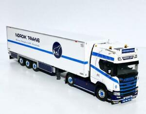 "Scania R highline CR20H reefer trailer""Nordik Line""WSI truck models 01-3261"