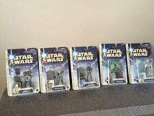 Star Wars Holographic Luke Skywalker Jabba's Palace Return Of The Jedi Lot Of 5