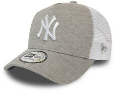 NY Yankees New Era Jersey Essential Gray Trucker Cap