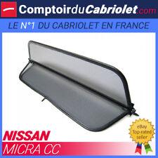 Filet anti-remous coupe-vent, windschott Nissan Micra CC cabriolet - TUV