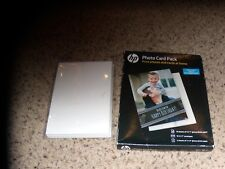 hp Photo Card Pack plus more sealed