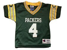 Green Bay Packers Brett Favre Champion Jersey Toddler 3T Made USA Vintage 90s