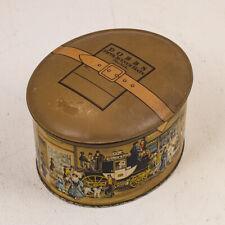 Dobbs 5th Avenue Hats Tin Litho Miniature Hat Box