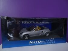 Toyota MR2 Spyder 1999 Grise Silver RHD Autoart 1/18 Ref : 78716 NEUVE NEW