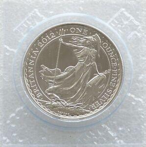 2012 Royal Mint Britannia £2 Two Pound Silver 1oz Coin Bullion Uncirculated
