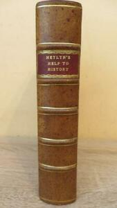 "1773 ""HELP TO ENGLISH HISTORY"" HEYLYN & WRIGHT - NICE COPY - ARMORIAL PLATES"