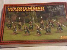 Games Workshop Warhammer Wood Elf Eternal Guard (92-13) - METAL SEALED BOX RARE