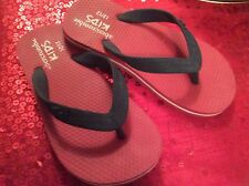 boys abercrombie and fitch flip flops size uk 12/13