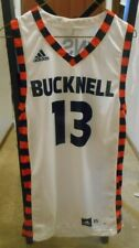 Adidas Bucknell Bison  Sz XS  OG promo ncaa lot sample  Basketball jersey