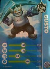 Gusto Skylanders Trap Team Stat Card Only!