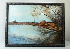 Dana Bartlett (1882 – 1957) Oil on Canvas Painting Signed Lower Right