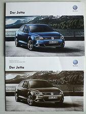 Prospekt Volkswagen VW Jetta, 11.2013, 64 Seiten + Technik und Preise