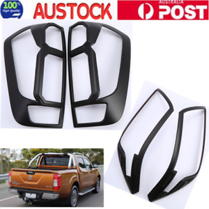 Nissan Navara NP300 D23 Headlight Taillight Light Lamp Cover 2015-2019 black