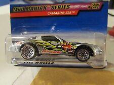 Hot Wheels Camaro Z28 Mad Maniak Series Silver Fire-Eater