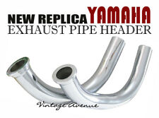 YAMAHA YAS3 AS3 RD125 A/B/C 1974 1975 1976  EXHAUST HEADER PIPE 1PAIR [EY5/EY6]
