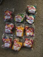 Vintage McDonald's Happy Meal Lion King II Part 2 Simba's Pride- Lot Of 13