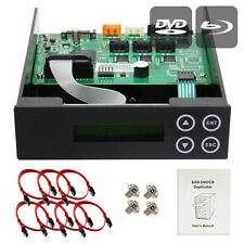 1-2-3-4-5  CD/ DVD/ BD Blu-ray SATA Burner Duplicator Copier CONTROLLER