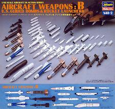 Hasegawa X48-2 AIRCRAFT WEAPONS B U.S. BOMBS 1/48 scale kit New Japan