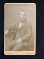 Victorian Carte De Visite CDV: Gentleman: Baum: Manchester: Well Dressed 2 of 2