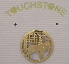 English Mastiff Jewelry Small Gold Pin