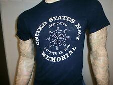 vtg 80s UNITED STATES NAVY MEMORIAL T SHIRT Dedication Ceremony October 13 1987