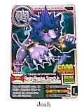 Animal Kaiser Evolution Evo Version Ver 7 Card (A170E Raging Regulus, Scorch Jr)