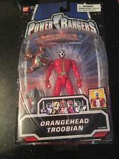 Power Rangers SPD Orange head Troobian New Bubble Coming Off Card