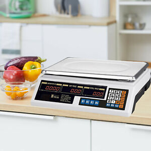 Livebest Electronic Digital Weigh Scale Computing Meat Price Market Commercial