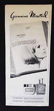 Pubblicita'Advertising Originale Vintage GERMAINE MONTEIL crema makeup  1965(A4