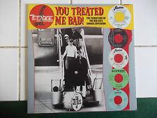 "GARAGE PUNK  60 'S  "" TEENAGE  SHUTDOWN"" you treted me bad"