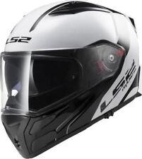 LS2 FF324 METRO RAPID FLIP FRONT Motorbike Helmet CRASH WHITE BLACK S (55-56CM)