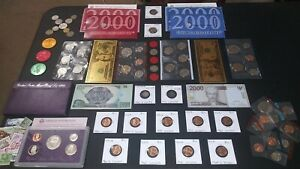 COIN LOT Estate Coin Collection☆US Coins,Silver World,Mint,WWII,Currency, PROOF