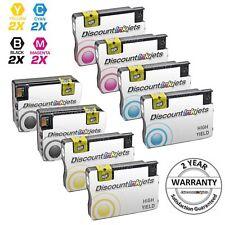 8 Pack 950 951 XL REMAN Ink Cartridge Set for HP Officejet Pro 8600 8625 8630