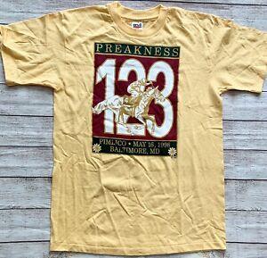 1998 Vintage 123 Preakness Pimlico t-Shirt