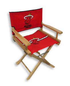 Zeckos Miami Heat Junior Director`s Chair