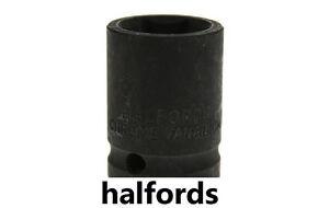 "Halfords 1/2"" impact Female socket Drive Half inch impact socket pro 10mm-34mm"