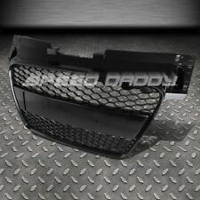 FOR 08-14 AUDI TT 8J RS-STYLE BLACK ABS PLASTIC FRONT SPORT BUMPER MESH GRILL