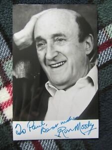 Ron Moody Hand Signed Photograph  DEDICATED TO PAUL