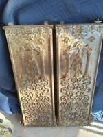 Two Antique Highly Decorative and Ornate  Radiators  Rocco style and heavy