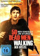 50 Dead Men Walking - El Soplón - DVD - con Jim Sturgess, p - envolvente NUEVO