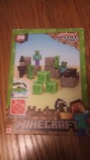 (163) Minecraft No. 16703 Paper craft ~ Overworld Hostile Mobs, Over 30 Pieces