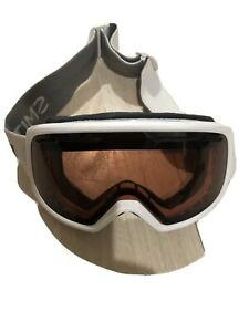 Smith Snow Ski White Kids Girls Youth Goggles