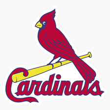 St. Louis Cardinals Logo MLB DieCut Vinyl Decal Sticker Buy 1 Get 2 FREE