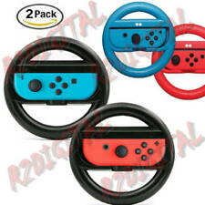 2 VOLANTI NINTENDO SWITCH ACCESSORI SPORT STEERING WHEEL COLORI CONTROLLER PAD